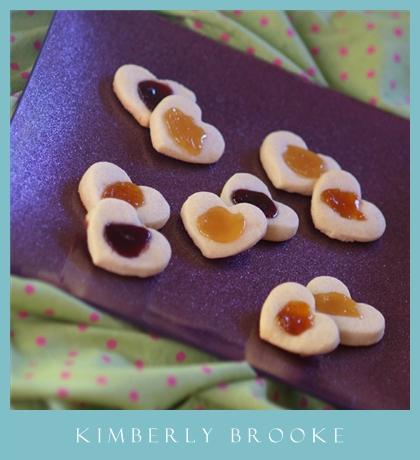 Heart Print Cookies