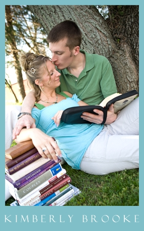 I love that they are more into planning their MARRIAGE than their wedding. So often couples overlook the fact that they are going to be partners for LIFE and get caught up in the planning of ONE DAY. Check out all the books they have read on marriage.